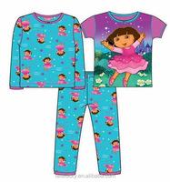 100% cotton hot sell sexy underwear for kids girls sleepwear kids underwear model