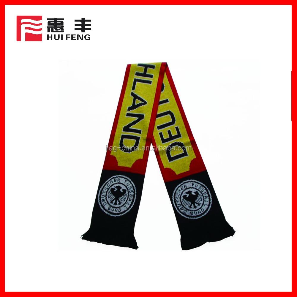 custom cheap football fan scarf buy fan scarf football