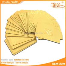2015 new fashion good quality custom plastic playing card wholesale