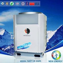 Canton Fair EVI Monoblock evi split type auto heating air to water heat pump factory