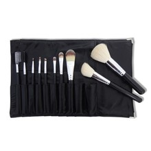 Goat hair nylon makeup brush set wooden pens