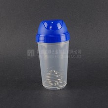 Personalized custom logo shaker bottle with metal ball,FOB price