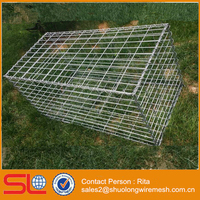 Cheap ! Welded Gabion Basket 100cm x 50cm x 50cm