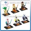 Mini Qute DARGO 6pcs/set plastic cartoon Marvel Star war movie models boys building blocks action figures educational toy NO.849