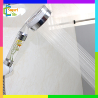 W-1T pc clean with flower single function dual rain and waterfall aromatherapy shower head