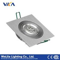 6w led ceiling spotlight 90-260v recessed ceiling light covers