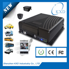 Intimate After-sale service&Technical support! KD2-KEW 4 channel car dvr with 3g wifi usb back up bus security camera dvr