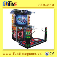 Theme park arcade dance coin operated game machine for sale