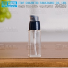 YB-KL20 20ml easy to hold and carry mini lotion pump clear acrylic custom cosmetic acrylic bottle 20ml