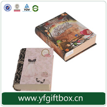 Handmade customized wholesale high quality paper material paper box package