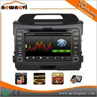 Electronic & Mechanical Anti-Shocked Protection android car audio system for SPORTAGE 2011-2012