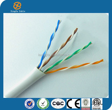 Fire Resistant PE Insulated Shielded Twisted Pair UTP FTP Cable Cat5e