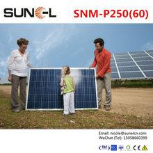Sunpower solar panels for 230v solar energy generator