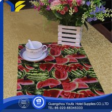 oilproof new design ecofriendly printed table commercial placemats