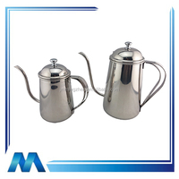 Stainless steel coffee pot, bell sound pot, oz pot, craft pot.milk jug