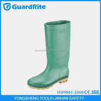 GuardRite Brand Cheap And Good Quality Lace Women Rubber Rain Boot