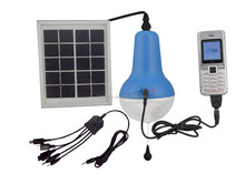 5V 1.7W polycrystalline silicone 8 hours charging solar light