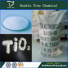 Factory Price Titanium Dioxide Rutile/Anatase for Plastic & PVC film Purpose