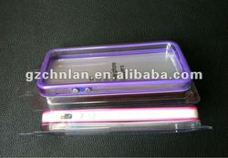 Bumper with metal keypad case for iPhone 5