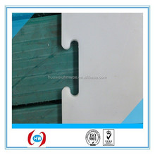 anti-uv UHMW PE synthetic ice/ custom hdpe dasher board/HDPE plastic sheet