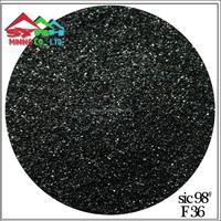 Black Silicon Carbide 98% F36 Tianjin Port