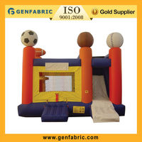 2013 promotional factory price sports inflatable slide