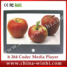 10.1 inch real 1080P lcd screen publicity wall shelf edge tv multimedia 12v usb video display advertising board player