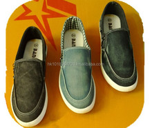 Canvas fashion men leisure comfortable shoes with free shipping