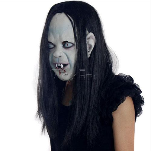 Devil Ghost Mask with Blood for Masquerade Party Halloween Mask Cosplay Mask