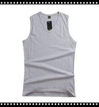 Blank Design Cheap Men Sleeveless T Shirts Discount