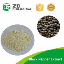 Negro pepper, piperina extracto, pura Piperine90 % 95% 98%