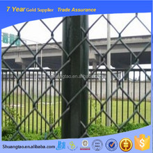 Alibaba China supply galvanized metal football fence, cheap chain link fencing, removable chain link fence