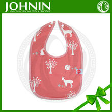 alibaba china custom fashion dress soccer baby bibs cotton with snap