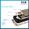 2015 mobile phone Holster Combo Case For Samsung S6