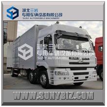 6x2 cargo truck/cargo box/dry cargo box truck van