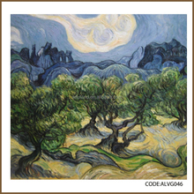 Haute qualité, Prix raisonnable de Van Gogh reproduction peinture à l'huile les oliviers, 1889