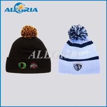Custom acrylic jacquard hat beanies mens winter hat fashion