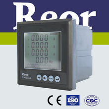 Made in China!R3000 Series small dimension AC 1A digital three-phase ammeter