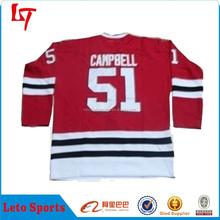 Custom sublimated ice hockey jersey oem supplying polyester fit ice hockey jersey