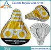 heat sealed PVC bike seat cover elastic seat covers