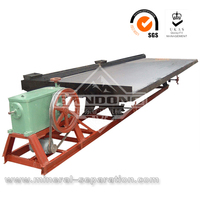 gold ore separating machine shaking table concentrator