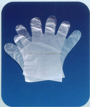 Disposable PE hand gloves for cooking, plastic gloves