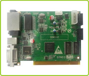 Indoor P4 full color rental led display 512x512 die-casting only 8kg Pitch 3mm pixels Full Color Tube Chip LED Video Display sending-card.jpg