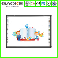 movable display white board multi touch infrared smart board for education cheap board for school