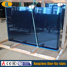 BL 8+12A+8 mm blue reflective double glazed glass with CE AS/NZS 2208 certificate