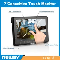 CL70 7 inch 800*480 resolution 16:9 Industry Touch Function LCD Monitor