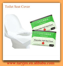 virgin wood material toilet seat cover for bathroom/travelling