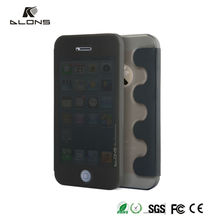 Protective case for Iphone 5 with View Window Sleep Function smart Flip Leather pc case for iphone DLONS