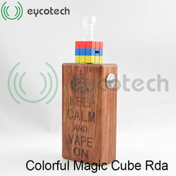 Full color Mini box mod kayfun v2 monster printing colorful magic cube from Eycotech