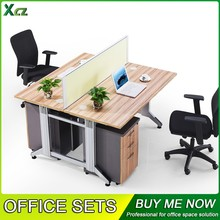 Office workstation 2 people office desk